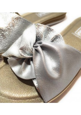 Sandalia de pala plana acolchada INBLU
