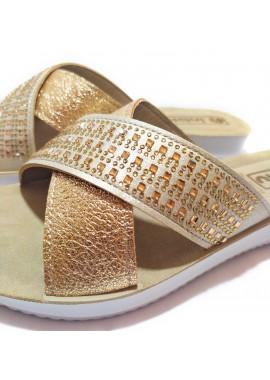 Sandalia destalonada tiras cruzadas de la marca Inblu